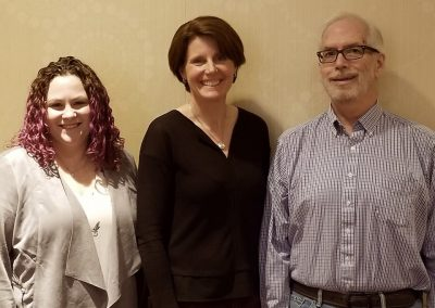Dr Rachel Weber and Dr Lara Boyd (University of British Columbia) and Dr Greg Rose (Southern Illinois University Carbondale) presented research on the Arrowsmith Program and its outcomes on February 21, 2019.